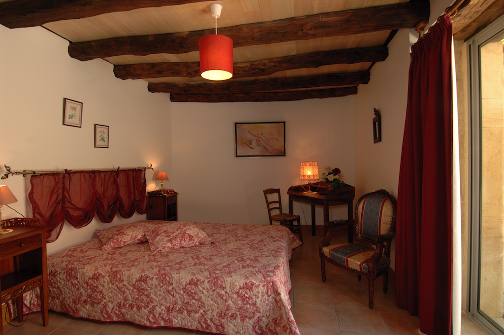 bedroom in charming house for holidays near sarlat