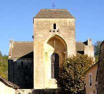 L'Abbaye de St Amand de Coly (10 Km - 10 mn)